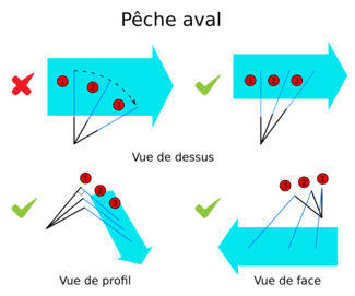 pêche toc aval